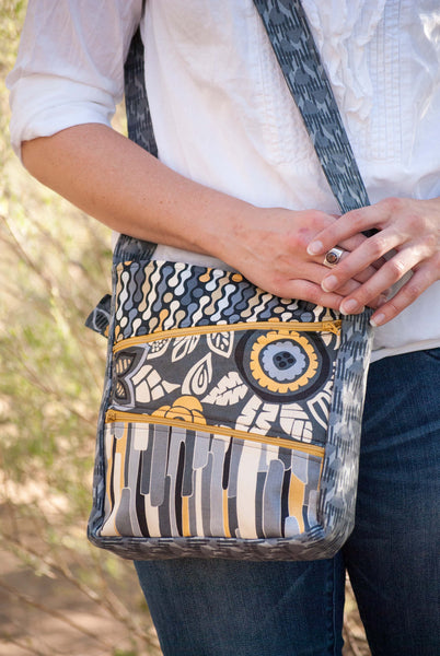 Zippy Bag Sewing Pattern - PDF