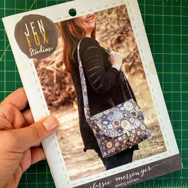 Classic Messenger Sewing Pattern - Hard Copy
