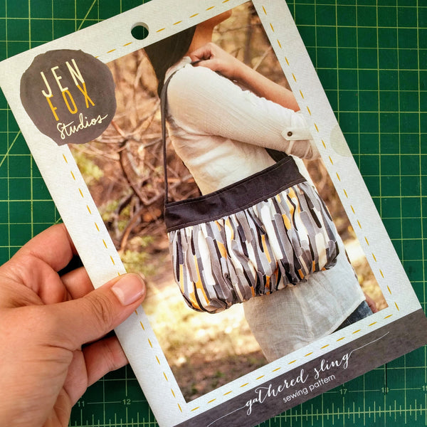 Gathered Sling Sewing Pattern - Hard Copy