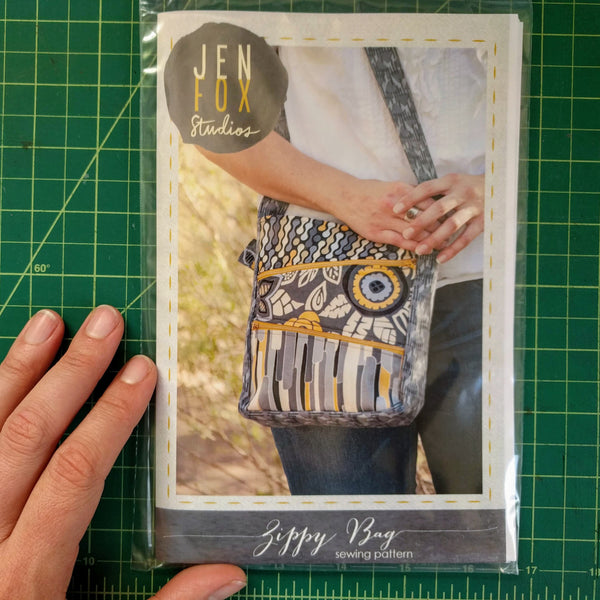Zippy Bag Sewing Pattern - Hard Copy