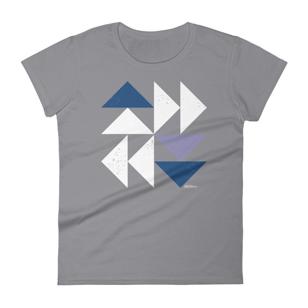 Dutchman's Puzzle - Women's short sleeve t-shirt
