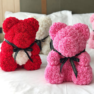 LUXE ROSE BEARS | Luxe Bouquet