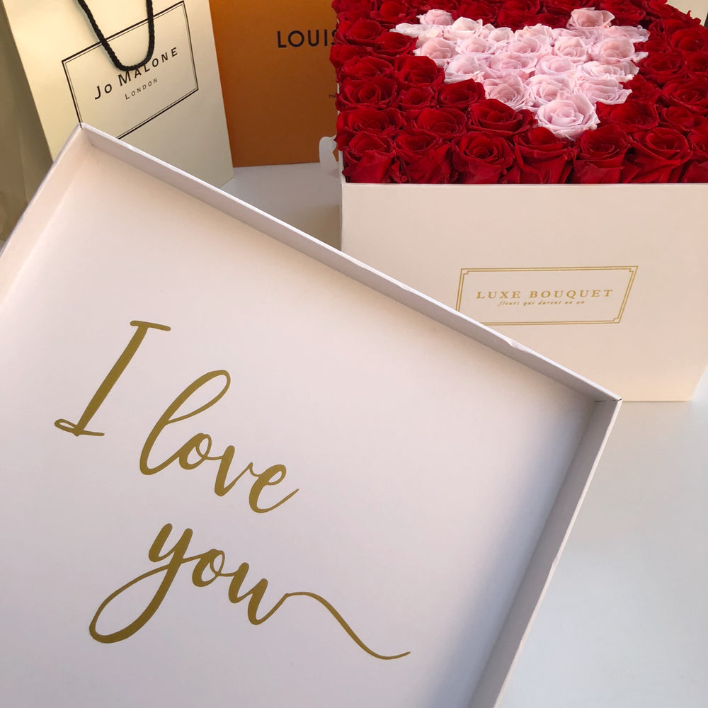 EVERLASTING HEART BOX - Luxe Bouquet
