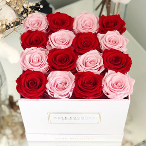 Cure Cancer Bouquet - Luxe Bouquet roses that last a year