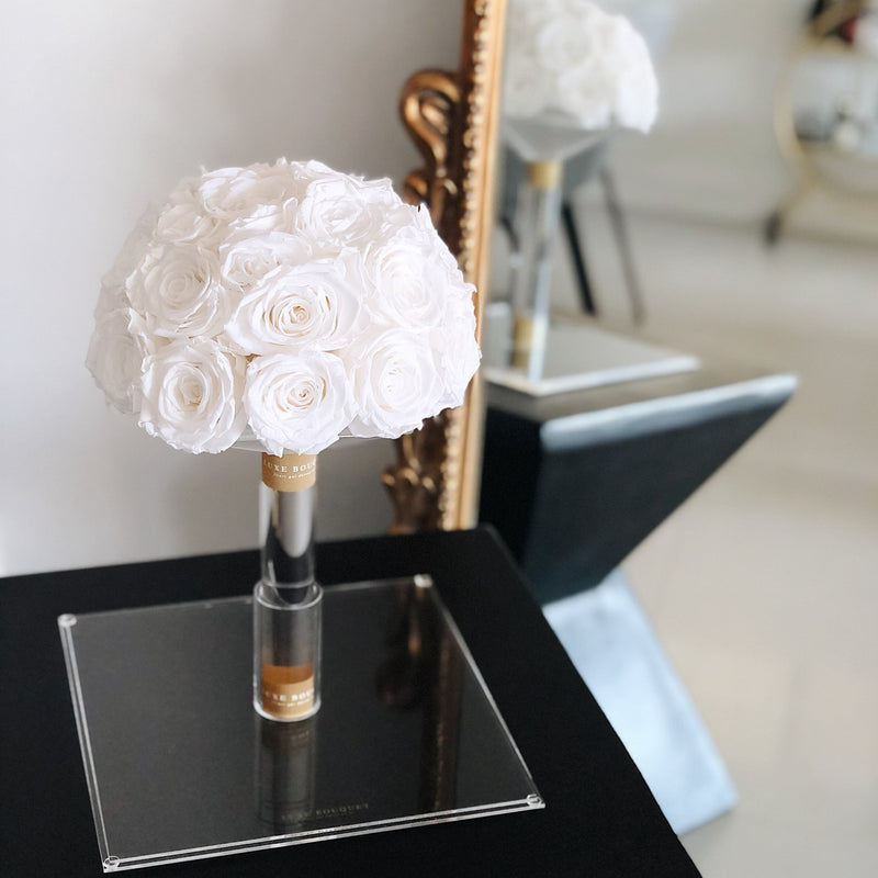Everlasting Bridal Bouquet - Luxe Bouquet roses that last a year