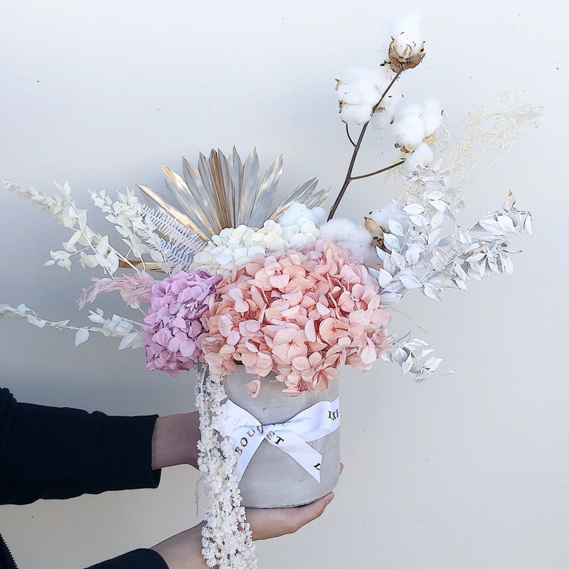 Forever Spring Bouquet - Dried Flowers That Last a Year (Sydney Only) - Luxe Bouquet roses that last a year