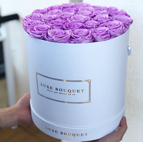 Grand Luxe Bouquet Box - Sky Blue