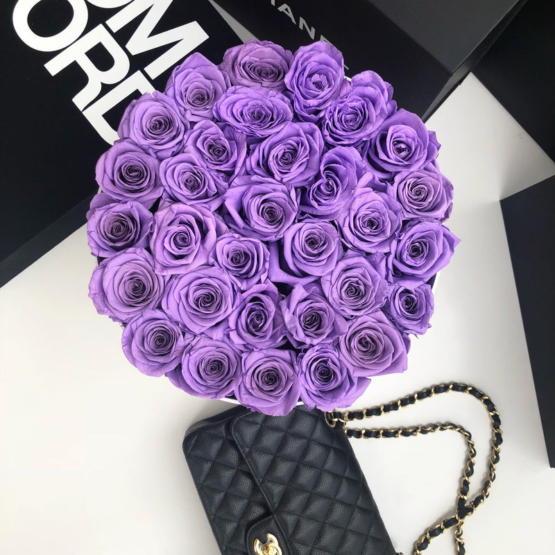 Grand Luxe Bouquet - Violet - Luxe Bouquet roses that last a year