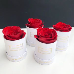 Le Mini Box Set - Luxe Bouquet roses that last a year