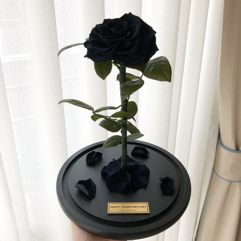 The Everlasting Rose - Black - Luxe Bouquet roses that last a year