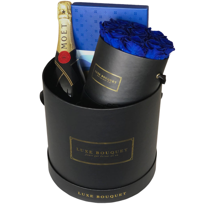 You're The Best Gift Box - Luxe Bouquet roses that last a year