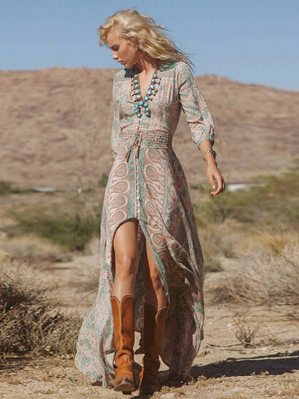 Breeze - Boho Chiffon Dress