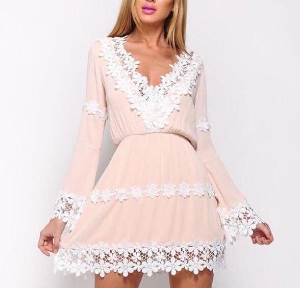 Chloe - Vintage Lace Dress