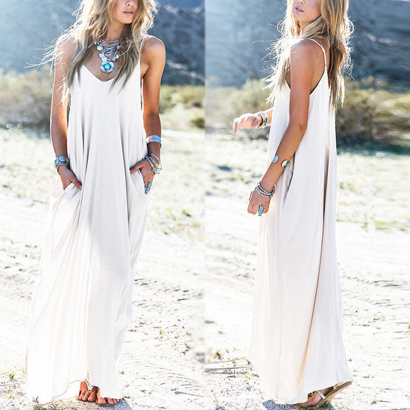 Anthea - Boho Maxi Dress