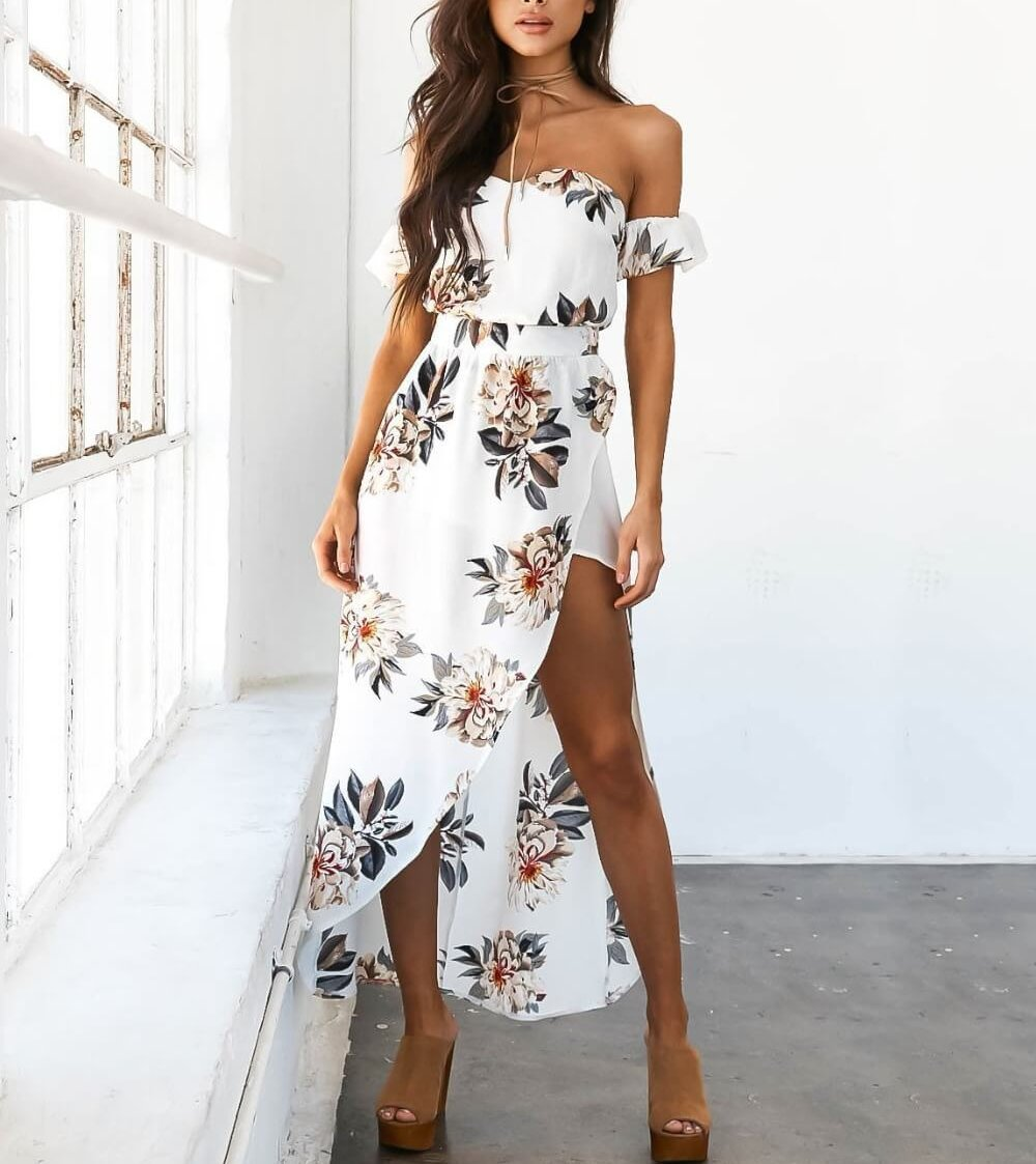 Faith - Summer Floral Dress
