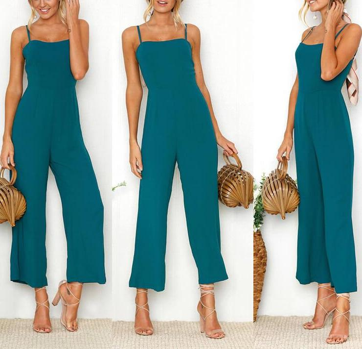 Paris - Sleeveless Casual Jumpsuit