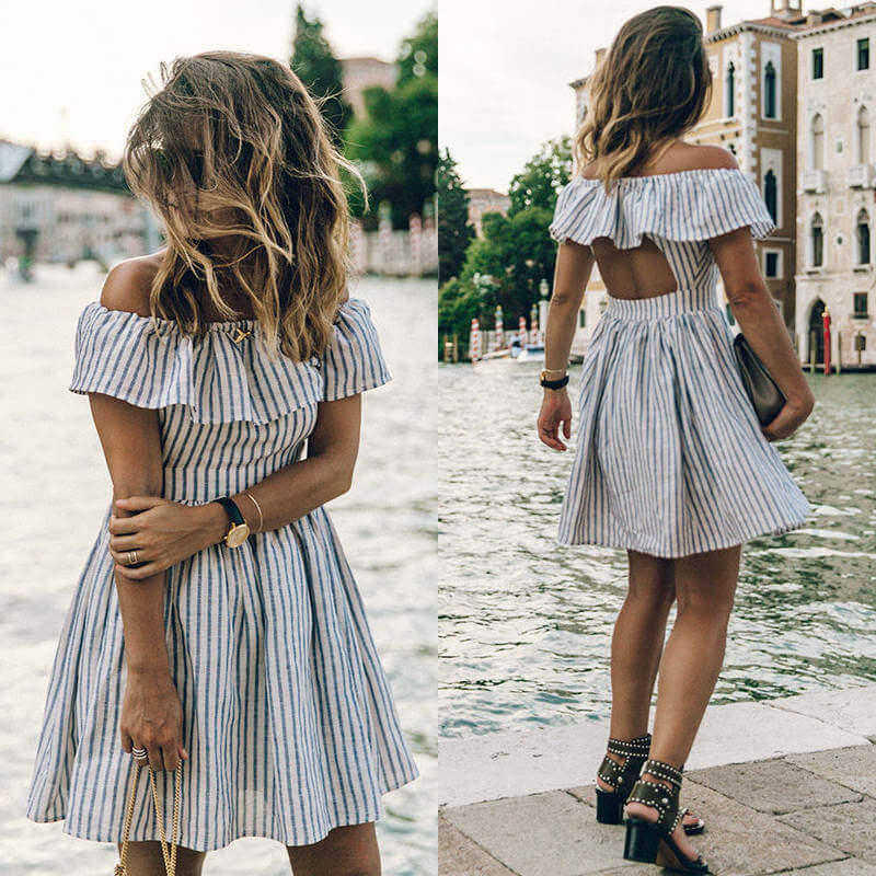 Venice - Summer Ruffle Dress