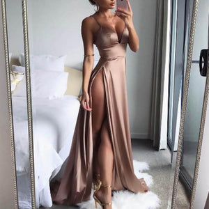 Bella - Sexy Satin Party Dress
