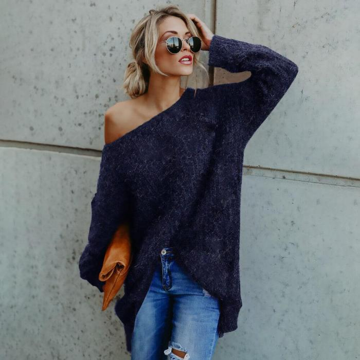Madison - Sexy Loose Sweater