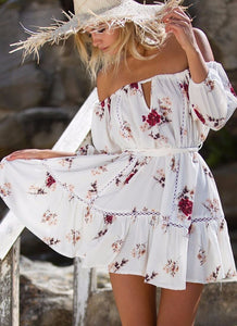 Lily - Summer Floral Dress