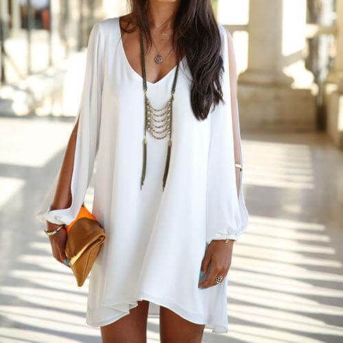 Melanie - Elegant Tunic Dress