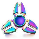 Walwh Aluminum Alloy Fidget Hand Spinner EDC Focus Anxiety Stress Relief Toys