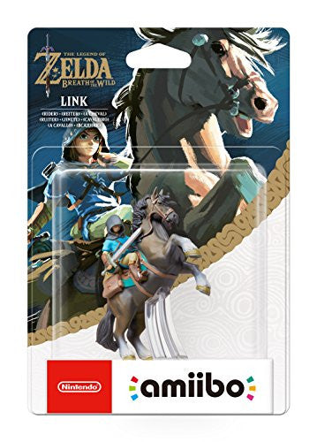 Link (Rider) amiibo - The Legend OF Zelda: Breath of the Wild Collection (Nintendo Wii U/Nintendo 3DS/Nintendo Switch)