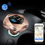 Dual USB Phone Charger LED Voltage Display Wireless Bluetooth MP3 FM Transmitter 5V 3.4A Fast Charging Car Charger Auto Adapter