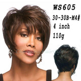 Short Wigs for Black Women Pixie Cut Wig for Women Short Cheap Afro Full African American Realistic Wig Short Hair
