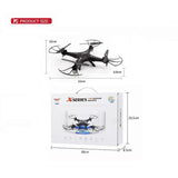 X300-1 Quadrocopter Camera 2.4G 4CH 4D Droll Big Remote Control Toy 2MP Drone Camera FPV RC Aerial Quadrocopter