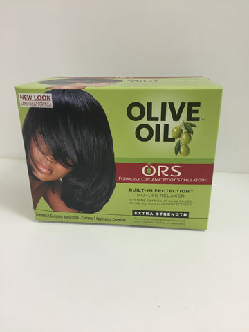 Organic roots hair relaxer cream