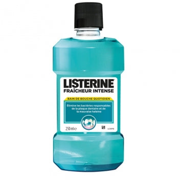 JOHNSON ET JOHNSON LISTERINE Fraicheur intense Bain de bouche Fl/250ml