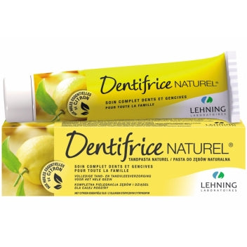 LEHNING DENTIFRICE HOMEOPATHIQUE Citron Tube/80g