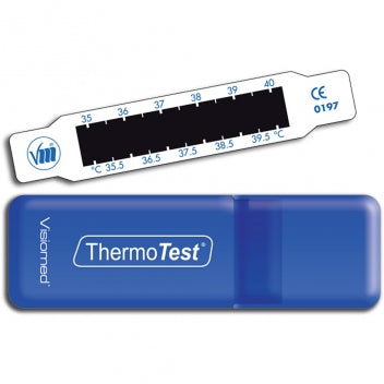 VISIOMED THERMOTEST Indicateur frontal de température à cristaux liquides