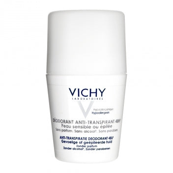 VICHY DEODORANT Anti transpirant peau sensible bille/50ml