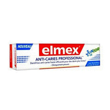 GABA ELMEX Dentifrice anticaries pro junior Tube/75ml