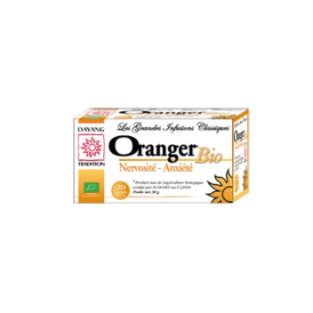 DAYANG BIO INFUSIONS CLASSIQUES Oranger Bte/20