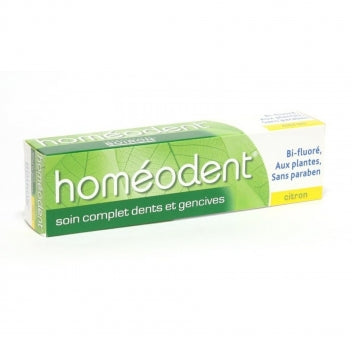 BOIRON HOMEODENT Soin complet dentifrice citron 2Tubes/75ml