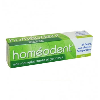 BOIRON HOMEODENT Soin complet Dentifrice anis Tube 2x75ml