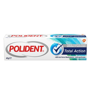 GSK POLIDENT Polident Total Action 40