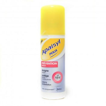 MERCK MEDICATION FAMILIALE APAISYL POUX PREVENTION Spray /90ml