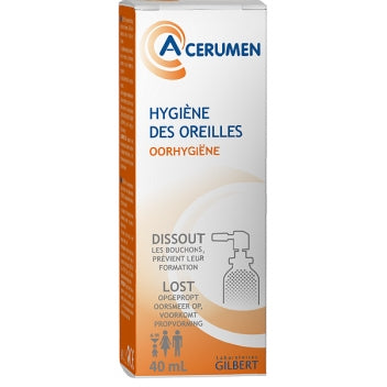 GILBERT A-CERUMEN Solution auriculaire Spr/40ml