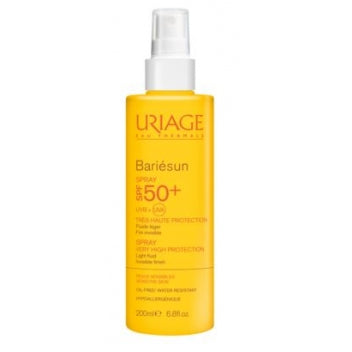URIAGE BARIESUN Spray SPF50+ Peaux Sensibles Fl pompe/200ml