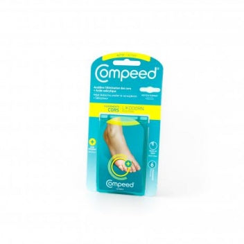 COMPEED (HRA) COMPEED Soin des pieds Pansements 2en1 cors Bte/6