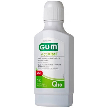 GUM SUNSTAR ACTIVITAL Bain de bouche Fl/300ml prévention quotidienne