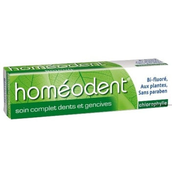 BOIRON HOMEODENT Soin complet Dentifrice chlorophylle Tube/75ml