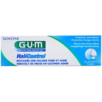 GUM SUNSTAR HALICONTROL Gel dentifrice Tube/75ml haleine