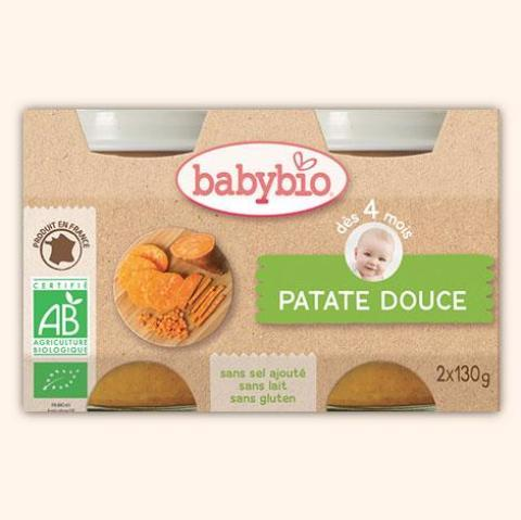 VITAGERMINE BABYBIO POT PATATE DOUCE