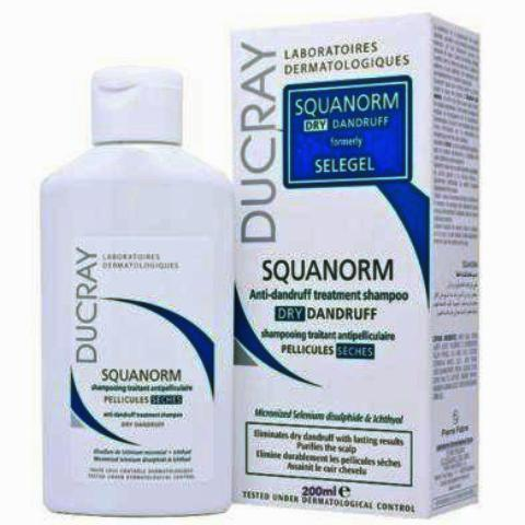 DUCRAY SQUANORM Shampoing pellicules sèches Fl/200ml