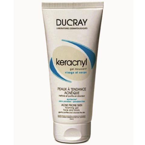 DUCRAY KERACNYL Gel moussant tube /200ml